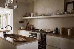Dining Area, Kitchen Dining, Kitchen Decor, Kitchen Cabinets, Kitchen Ideas, Zara Home Kitchen, Kitchen Interior, House Roof Design, Neutral Kitchen