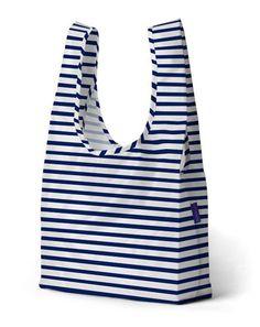 baggu - sailor stripe bag