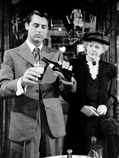 Arsenic and Lace. Super funny movie.. love it.