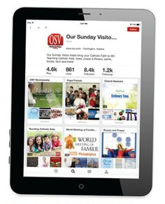 Pin it! 10 ways to use Pinterest to grow in faith Online bulletin boards offer a variety of ways to keep you organized and full of ideas for your domestic churches