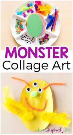 This monster collage