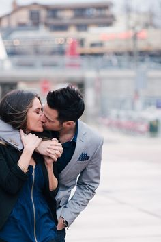 City Chic Engagement Shoot in Denver | photo by @Lori Kennedy