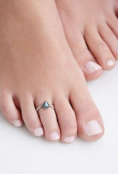 Etched Toe Ring Set | FOREVER21 - 1049258906