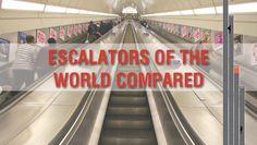 The world's longest escalators (Mar 20-26)