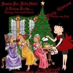 Animated Gif by Katrina Blair Template Free, Xmas, Christmas Ornaments, Betty Boop, Animated Gif, Holiday Decor, Videos, Blog, Love Messages
