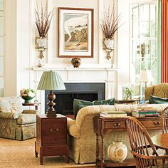 Link is to video of Southern Living's Editors' Favorite Living Rooms