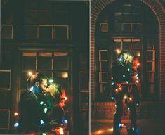 Zach and Katrina :: Christmas Engagement Photos :: Pueblo, Colorado Engagement Photographer | Malissa Ahlin Photography