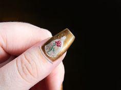 Manicura Disney: 26# La Bella y la Bestia ( Beauty and The Beast nail art ) | Toxic Vanity