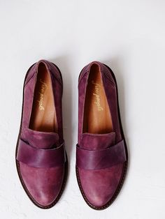 slip on loafers from free people