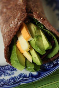 Gluten Free Vegan Tortilla Wraps (xanthan free, starch free)