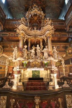 Altar,  Church of Peace in Swidnica, Lower Silesia, Poland