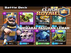 Clash Royale eps 3 - Challenge ( Memakai Pasukan yang Lemah) -