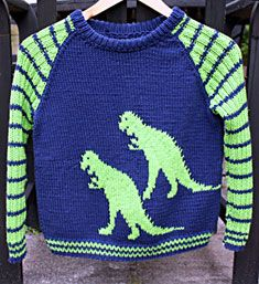 Dinosaur, bomuld p.4 Baby Patterns, Knitting Patterns Free, Free Pattern, Knitting For Kids, Jumper, Crochet, Sweaters, Fashion, Moda