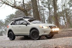 's 2015 Subaru XV Crosstrek is one of the few lifted and modified out there today. With a great sense of adventure come see what its all about. Subaru Forester, Subaru Impreza, Lifted Subaru, Subaru Cars, Subaru Outback, Rally Car, Custom Cars, Offroad, Dream Cars