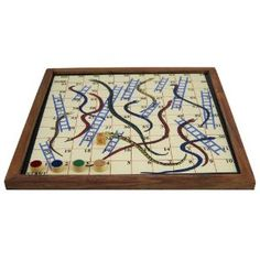 Snakes and Ladders Board Games with Magnetic Board and Pieces: Amazon.co.uk: Toys & Games