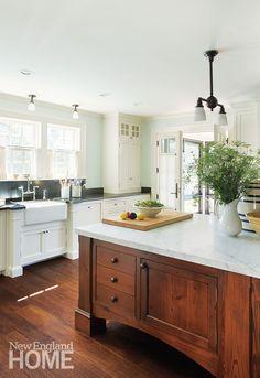 Kitchen 1920s Cape Cod Home
