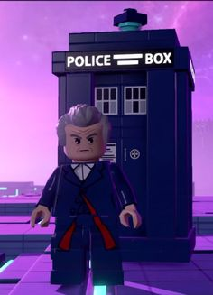 Peter Capaldi - Lego Dimension - Doctor Who