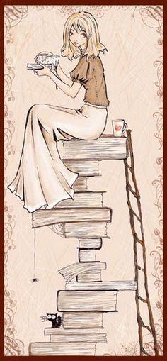 #BuenosDías los #libros son las atalayas desde las que observar el mundo