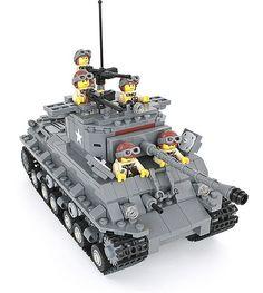 Lego Ww2 Tanks, Lego Track, Technique Lego, Arte Elemental, Lego Soldiers, Lego Kits, Nerf Toys, Lego War, Lego Worlds
