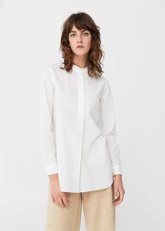 Camisa popelín | MANGO