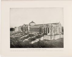 Souvenir book of the Louisiana Purchase Exposition - Page [16]: United States Government Building [photographic illustration]