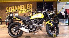 2015 Ducati Scrambler Icon - Walkaround - 2014 New York Motorcycle Show. This is what David Sutcliff wants for Christmas for Scrambler Icon, Ducati Scrambler, David Sutcliffe, Motorcycle, York, Christmas, Motorbikes, Xmas, Motorcycles
