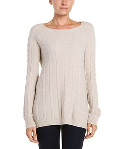 Rue La La - Cashmere Cable Neck Sweater