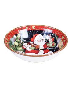 Another great find on #zulily! Santa's Workshoppe Serving Bowl #zulilyfinds