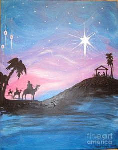 Nativity Painting -...