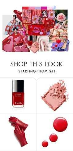 """""""henri"""" by bettinaburud ❤ liked on Polyvore featuring Bobbi Brown Cosmetics, Magda Butrym and Topshop"""