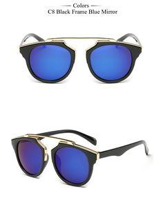 7c8a580cba New Fashion Cat Eye Sunglasses Women Brand Designer Vintage Sun Glasses Men  Woman UV400 Glasses Oculos