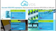 RuVDS - хостинг VDS/VPS серверов, бесплатный vps сервер. Ru VDS - виртуа...