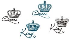 Couples Hand Tattoos King and Queen . Couples Hand Tattoos King and Queen . 40 Best King Queen Tattoos for Couples In Love Crown Hand Tattoo, Queen Crown Tattoo, King Queen Tattoo, Crown Tattoo Design, Him And Her Tattoos, Love Tattoos, Black Tattoos, Beautiful Tattoos, Small Tattoos