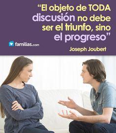 Que tus hijos te vean discutir, nunca pelear
