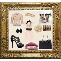 Romantic, created by janie-dispensa on Polyvore