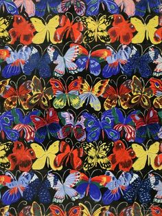 Raoul Dufy | Textile Design 1912 | http://www.tate.org.uk/art/artists/raoul-dufy-1038