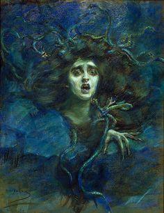 Alice Pike Barney - Medusa (Laura Dreyfus Barney)