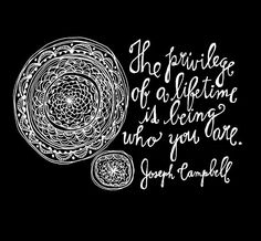 Words by Joseph Campbell.  Art by Lisa Congdon