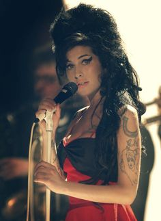Amy Winehouse, the same age as me. Left us too soon. So sad we didn't get to hear more.