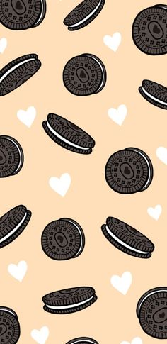 cookie oreo food food lovers cookie lovers pastel colors wallpaper screensaver iphone wallpaper iphone screensaver travelling travel world map Cute Food Wallpaper, Cute Patterns Wallpaper, Cute Disney Wallpaper, Kawaii Wallpaper, Tumblr Wallpaper, Cartoon Wallpaper, Wallpaper Quotes, Wallpaper Awesome, Beautiful Wallpaper