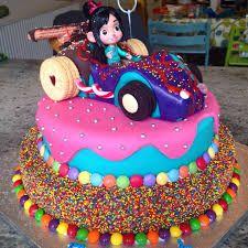 Resultado de imagen para vanellope von schweetz cake