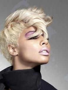 Black Women Blonde Hair
