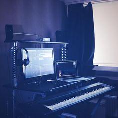 Home Studio Setup.  www.jtvdigital.com