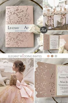 Have you chosen pink wedding flowers or pink bridesmaid dresses for your wedding? Why not consider setting the whole mood for your big day with pink wedding Wedding Night, Our Wedding, Dream Wedding, Pink Wedding Invitations, Wedding Stationery, Marriage Reception, Pink Bridesmaid Dresses, Wedding Themes, Unique Weddings