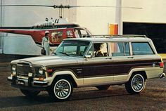 I originally wanted one of these. Was considered for my first car but needed too much work. Jeep Grand Wagoneer