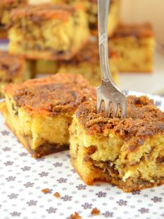 Coffee sheet cake - I have to bake, Fusion Food, French Toast, Yummy Food, Sweets, Coffee, Breakfast, Healthy, Tableware, Desserts