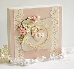 Wedding Boxes, Vintage Shabby Chic, Flower Cards, Decoupage, Scrapbooking, Paper, Frame, Inspiration Cards, Handmade Cards