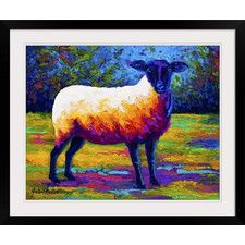Suffolk Ewe II by Marion Rose Framed Painting Print