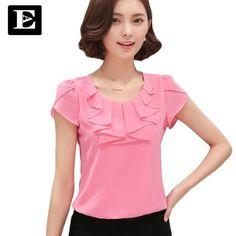 EveingAsky Office Women Shirts Blouses White Pink Purple Elegant Ladie – eefury Elegant Woman, Blouse Styles, Blouse Designs, Bermudas Fashion, Moda Zara, Shirt Bluse, Ladies Dress Design, Blouses For Women, Women's Blouses