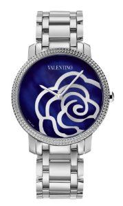 Valentino Women's Rose Stainless Steel Blue Mother Of Pearl Dial Watch : Watches Stainless Steel Bracelet, Stainless Steel Case, Valentino Watches, Rose Watch, Cute Watches, Wrist Watches, Valentino Women, Jewelry Showcases, Luxury Watches
